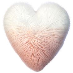 Celebrate Valentine's Day Together Heart Shaped Faux Fur Plush Back... ($18) ❤ liked on Polyvore featuring home, home decor, throw pillows, pink, pink toss pillows, pink home decor, heart home decor, pink home accessories and valentines day home decor