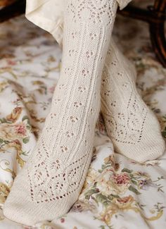 Knitted white. | Volang