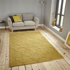 Think Hong Kong 8583 150x230cm Rug, Yellow