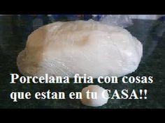 Tutorial: como hacer porcelana fria casera en menos de 5 MINUTOS!! - YouTube