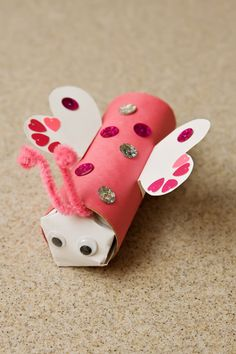 Valentine's Day is a great day to show loved ones how much you appreciate them, and this love bug craft is an adorably simple way to spread the love.
