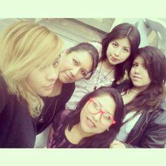 No podria faltar una selfie de algunas chicas del equipó!  #IVMAM #IlVolovers #IlVolo #Fan #Club #México #Official #SomosAmor