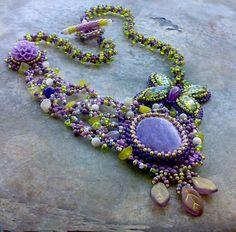 Lavender garden | Fler.cz  #beadwork