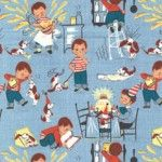 Retro fabric, Little chef