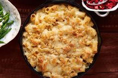 Baked Two-Cheese Rigatoni  - CountryLiving.com