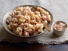 Smashed Potatoes with Bacon Salt Recipe : Food Network Kitchen : Food Network - FoodNetwork.com