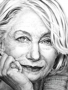 Helen Mirren is one of my favorite regal women