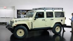 Jeep modified a four-door Wrangler Unlimited for its new Africa Concept, to be shown at the 2015 Moab Easter Jeep Safari. (16 photos)