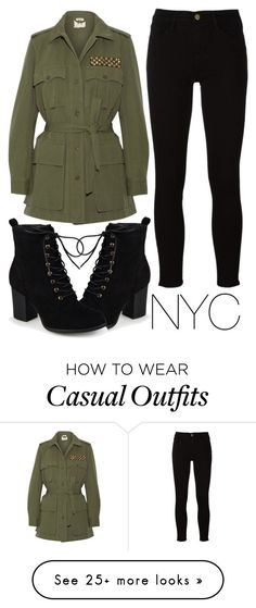 """""""casual coffee date"""" by j-n-a on Polyvore featuring Journee Collection, Figue and Frame"""
