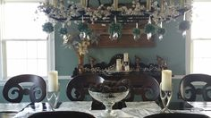 A New Beginning's Country Christmas Diningroom