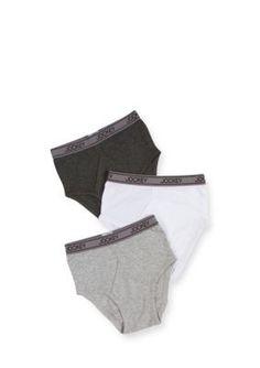 Jockey Assorted 3-Pack Briefs Underwear Boys 4-20