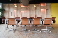 The Sound Alliance Office Fit Out - Sydney Design Awards interesting depth