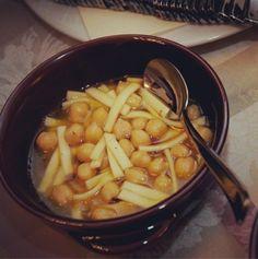 #Sagne e #ceci al coccetto.  #cucina #Abruzzo #tradizione