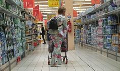 The concept of sustainability is influencing food inc.   France wastes 7m tonnes of food annually. Supermarket chain Carrefour, above, agreed the law would help increase food donations.