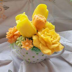 Citrusová mýdlová kytice Citrus soap bouquet Bouquet, Soap, Fruit, Bouquets, The Fruit, Floral Arrangements, Soaps, Nosegay