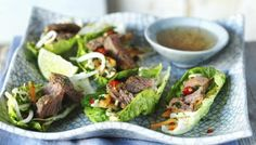 Try serving strips of steak on lettuce with a sharp, sweet blend of Vietnamese…