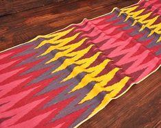 Rainbow silk fabric upholstery, silk fabric by metre, ikat throw fabric, ikat handwoven fabric, hand Velvet Upholstery Fabric, Ikat Fabric, Ikat Pillows, Velvet Pillows, Printed Silk Fabric, Gorgeous Fabrics, Handmade Pillows, Hand Weaving, Cushion