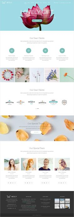 Woly is beautifully design modern #WordPress theme for multipurpose #florist #website with 32+ stunning homepage layouts download now➩ https://themeforest.net/item/woly-multipurpose-theme-with-a-huge-collection-of-modern-layouts-for-all-your-needs/16792571?ref=Datasata