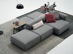 Alcazar sofa has a modern design, furnishes the relax part of the house. Alcazar is a modular sofa. Alcazar has simple and young lines, a geometrical and
