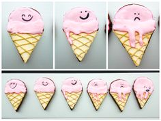 & Ice Cream Cone Cookies {Simply Perfect Chocolate Sugar Cookies ...