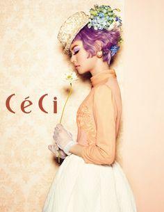 Kim Yoon Hye - Ceci Magazine March Issue '13