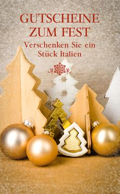 Immernoch auf der Suche nach einem passenden Geschenk? Wie wär's mit einem Gutschein für tolles italienisches Essen? EMILIA wünscht besinnliche Feiertage!
