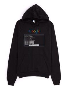"""Google: """"Black Men Are"""" Sweatshirt・Hoodie"""