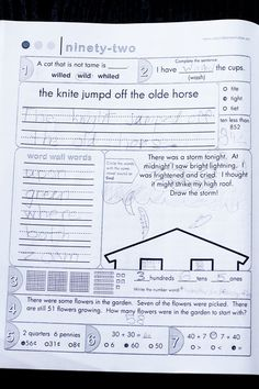 second grade common core morning work book