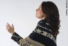 Flamenco singer Rocio Bazan. © Michelle Chaplow