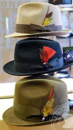 Plumas para Sombrero de Sombrerería Albiñana 2395d85c086