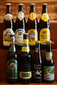 Pack #cerveza de trigo Internacional, las mejores cervezas de trigo de importación procedentes de diferentes paises.