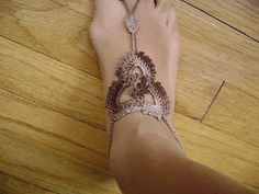 Ravelry: Bliss Barefoot Sandals pattern by Erika Hill