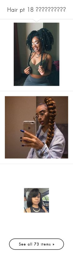"""""""Hair pt 18 💇🏻💇🏼💇🏾💇🏽💇🏿"""" by aleciadowdemll ❤ liked on Polyvore featuring hair, hairstyles, beauty products, haircare, hair styling tools, accessories, hair accessories, makeup, beauty and girls"""