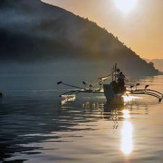 Sunrise Fishing ....by Irena Sowinska Galli