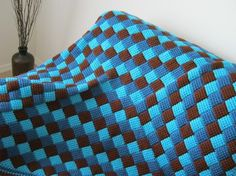 Tunisian Crocheted Afghan