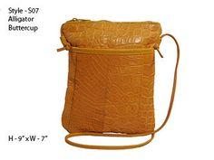 Genuine Alligator Skin Handbag/Purse