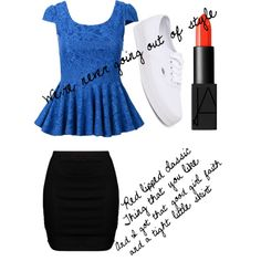 Style by julia3smith on Polyvore featuring polyvore, fashion, style, Zizzi, Vans and NARS Cosmetics