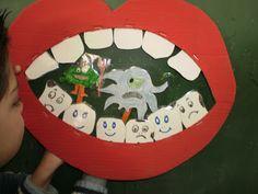 ΜΠΑΡΛΑ ΝΤΙΑΝΑ: Τα δόντια Cute Tooth, Preschool Education, Diy For Kids, Teaching, Holiday Decor, Ideas, Creative, Blog, Crafts