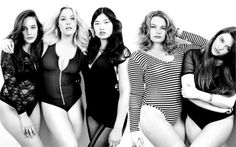 Heather Hazzan, Fine Bauer, Stephanie Shiu, Kailee O'Sullivan, Harriet Coleman - Plus Size Models