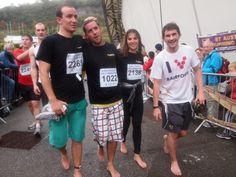 Eden Project marathon in VIVOBAREFOOT shoes, the best barefoot shoes!