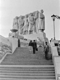 Stalin monument, Letna, (pull down) Prague