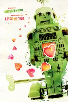 Lovin' Machine by Karen Kurycki, via Behance