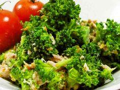 ブロッコリーとツナの胡麻マヨポン♪サラダの画像