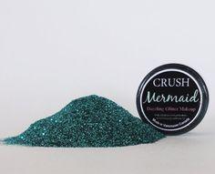 Mermaid Glitter EyeShadow  5g Jar by CRUSHCOSMETICS on Etsy, $6.00