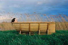 Viking Bath Boat by Wieki Somers