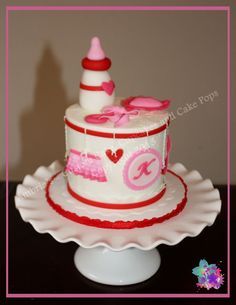 Valentine S Day Baby Shower Via Kurabiiki Com Valentines Day Baby