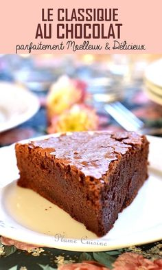 Chocolat Cake, Quick Cake, Cake Recipes From Scratch, Homemade Cake Recipes, Drip Cakes, Easy Desserts, Sweet Treats, Food And Drink, Sweets
