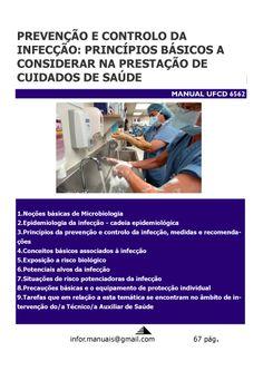 ufcd 6562. Prevenção e controlo de infecção - Princípios básicos associados à prestação de cuidados de saúde