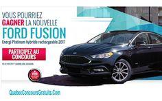 Ford Fusion Energi Platinum hybride de 45088 $