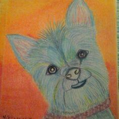 Dog Prismacolor